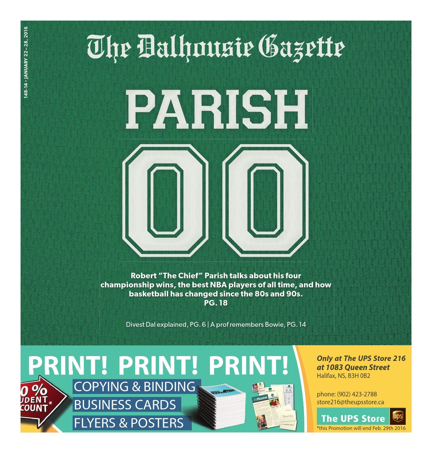 Issue 14 By Dalhousie Gazette