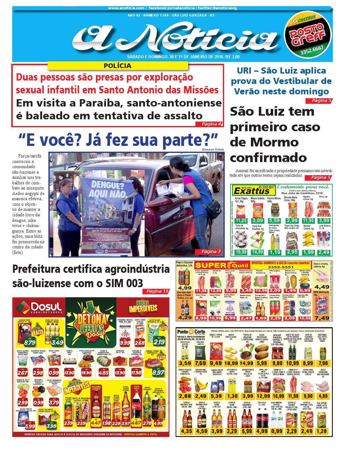 Edição de 30 e 31 de janeiro de 2016 by Jornal A Notícia - issuu 8f0c14d0d0ed9