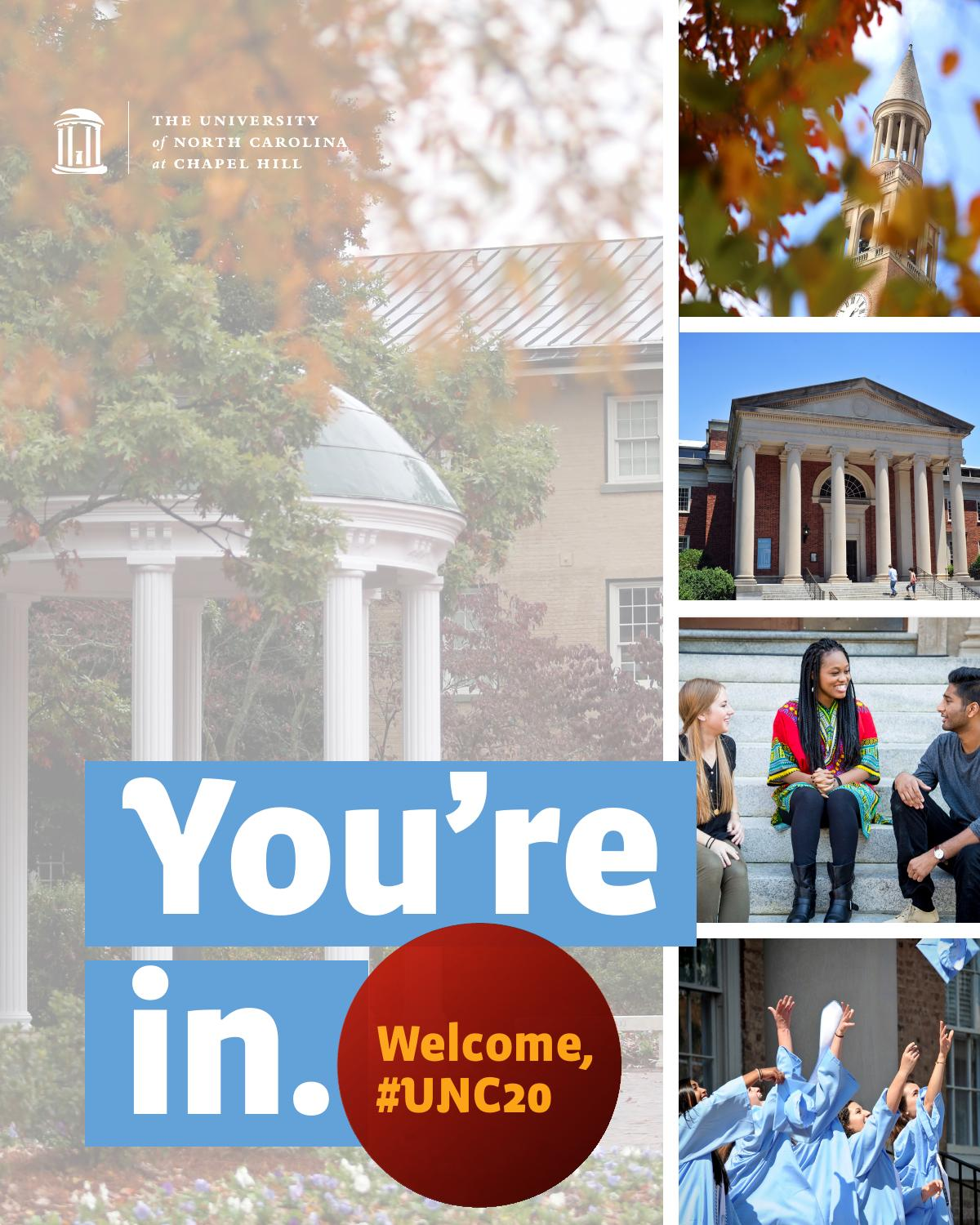 unc-chapel hill - admitted first-year student brochure (2016) by