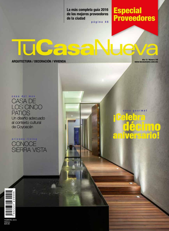 Tu Casa Nueva. Febrero 2016. by Editorial Ferrato - issuu