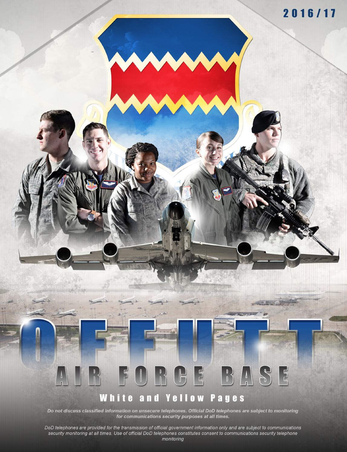 Offutt Air Force Base Phone Directory 2016 by Suburban Newspapers ...
