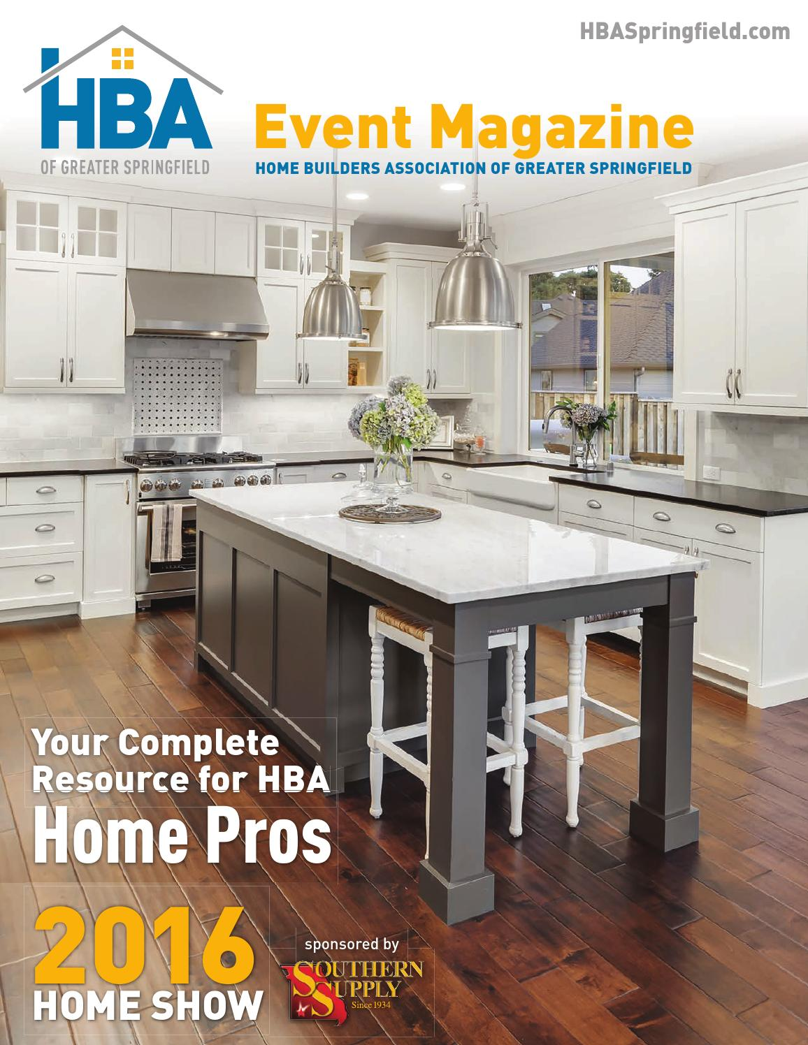 d75cd5ca781f HBA Home Show Event Magazine - 2016 by Home Builders Association of ...