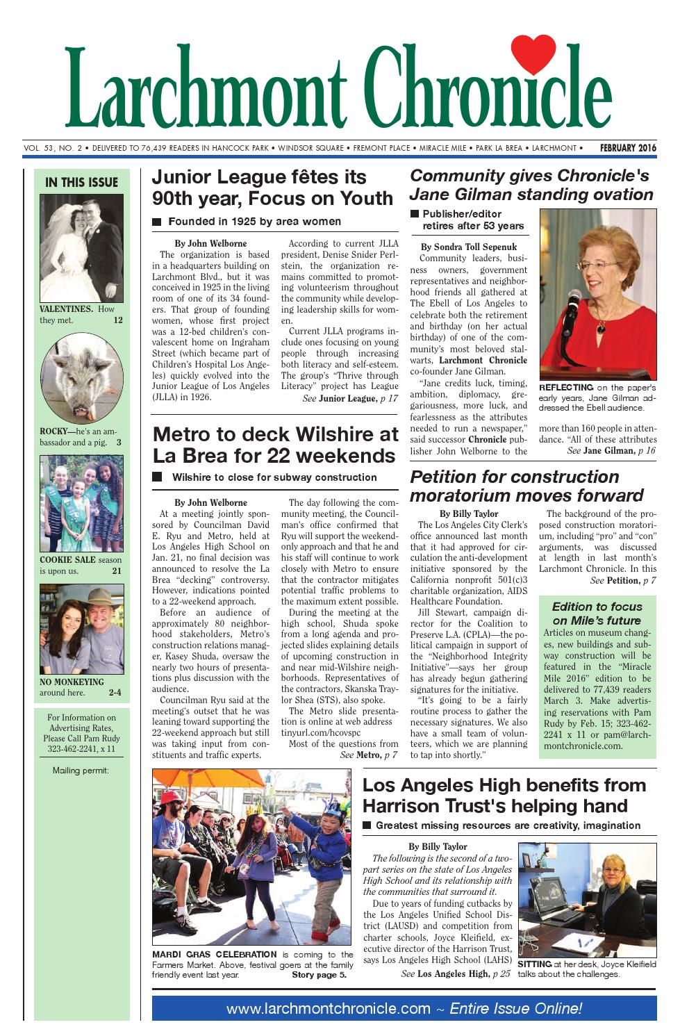 c5c62692d5 Lc issue 02 16 100 by Larchmont Chronicle - issuu
