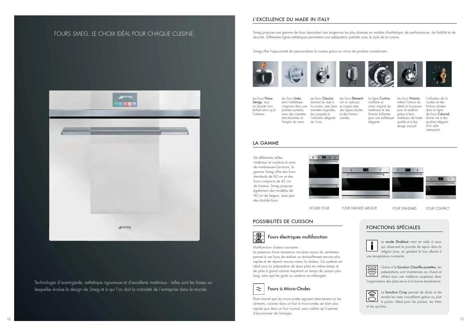 Piano De Cuisson Largeur 60 Cm catalogue smeg electroménager 2015direct vente ets