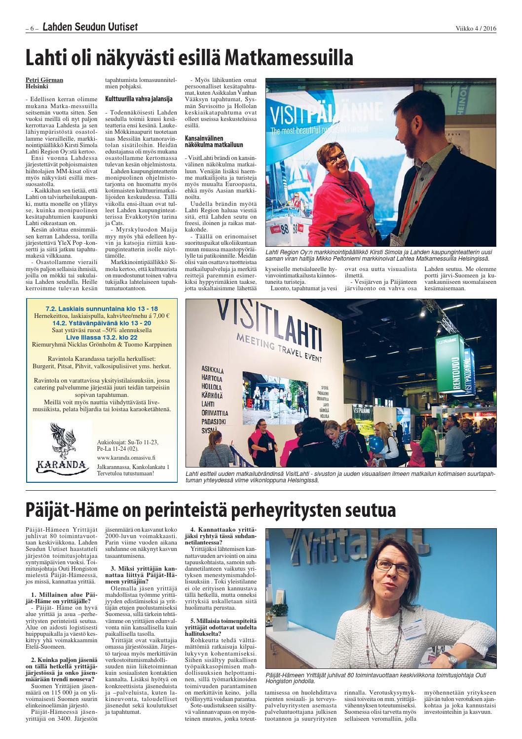 Lahden Seudun Uutiset