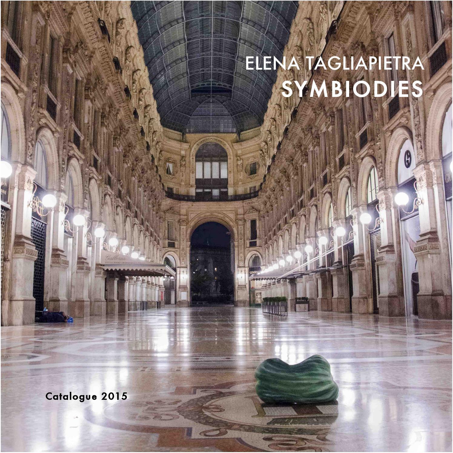 Merlino Bottega D Arte symbiodies project - catalogue 2015 by elena tagliapietra