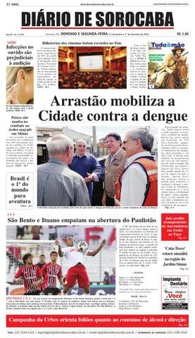 Edição de 31 de janeiro de 2016 by DIÁRIO DE SOROCABA - issuu 3503aa89ff322