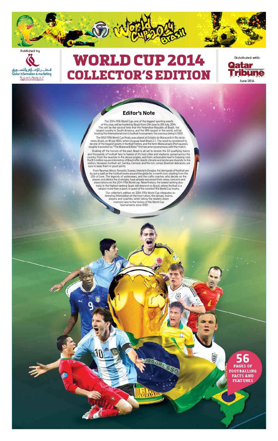 WorldCup Football 2014 by Ravi Nair - issuu 809d216dd