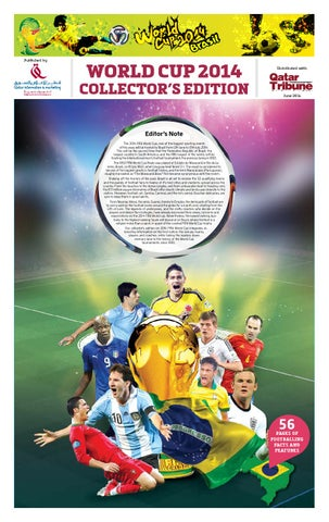 01bd1a769 WorldCup Football 2014 by Ravi Nair - issuu