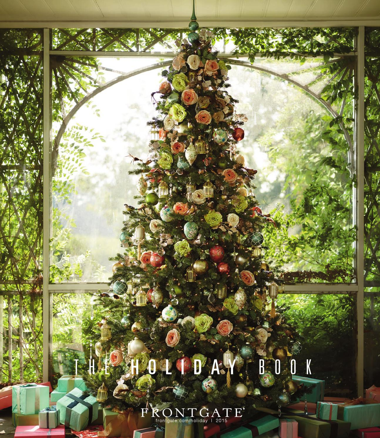 frontgate holiday 2015 catalog by amy howell hirt issuu
