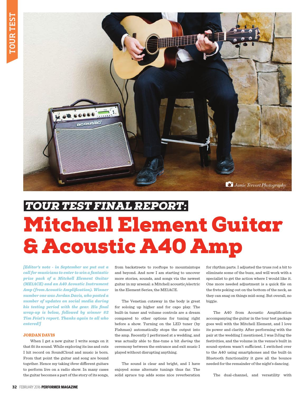 Performer Magazine: February 2016 by Performer Magazine - issuu