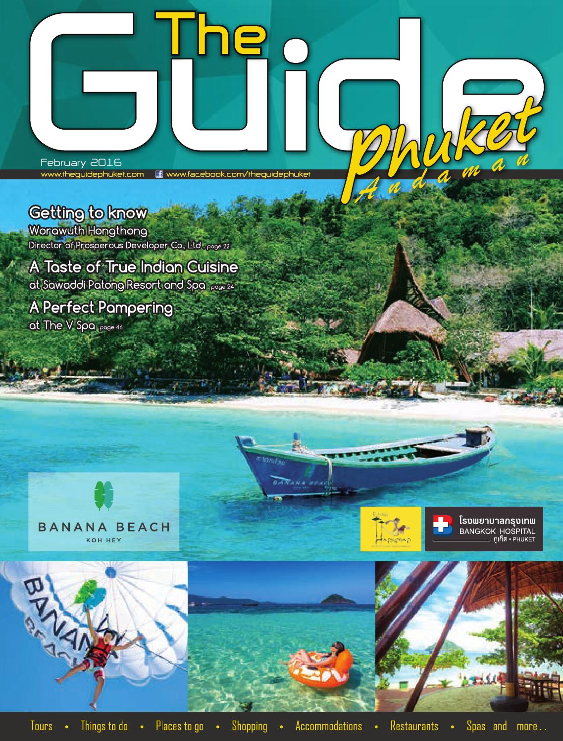 The Guide Phuket February 2016 by Pond Guinault - issuu
