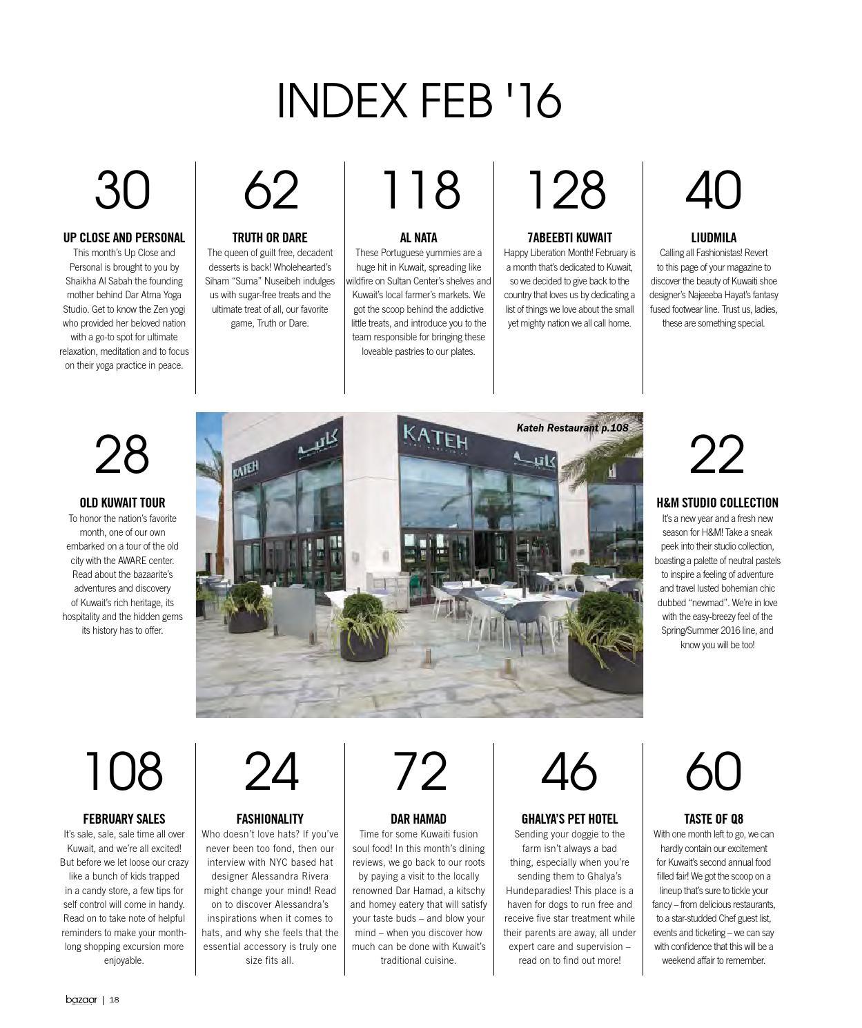bazaar February Issue 2016