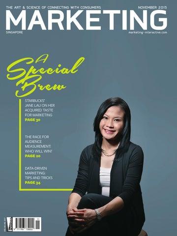 Marketing Magazine SG - Nov 2015 by Marketing Magazine Group