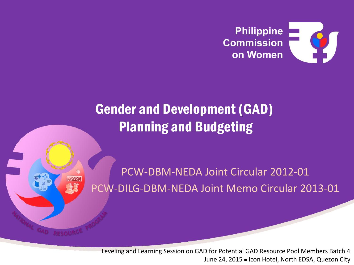 Gad planning and budgeting vjp by kawomenan - issuu