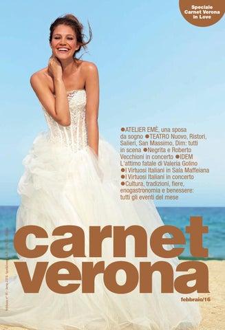 Carnet Verona Febbraio 2017 by Staff CarnetVerona - issuu 4ba816faeef