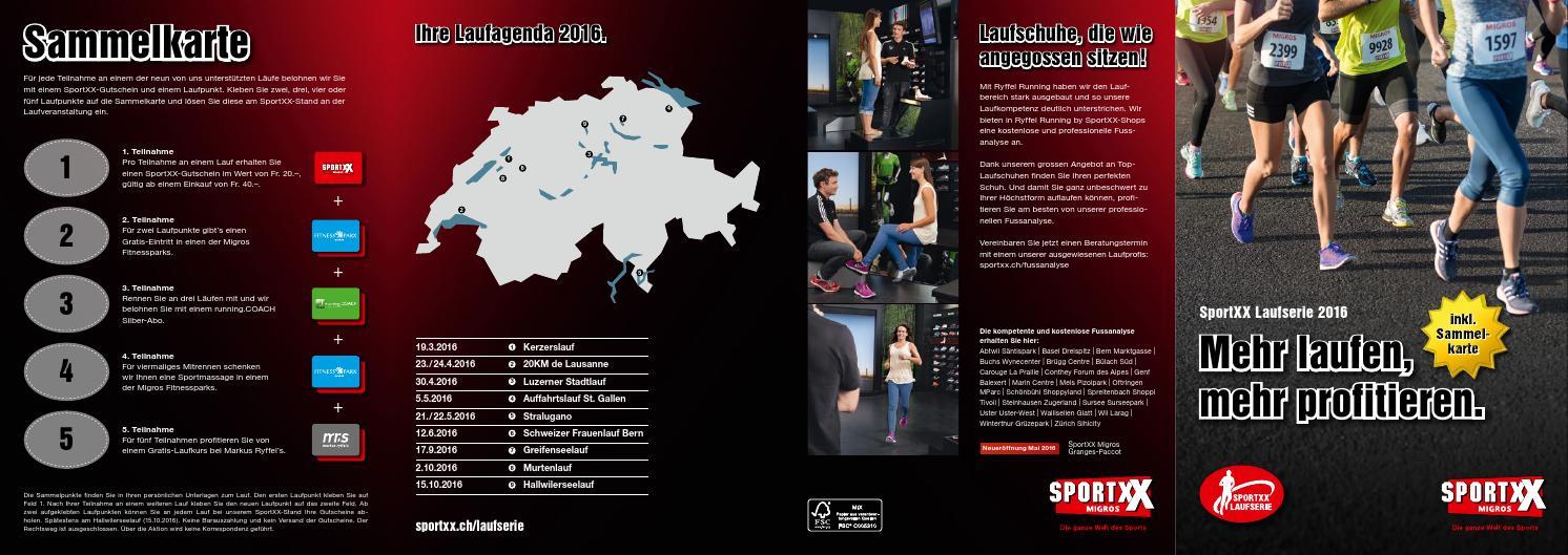 Booklet SportXX Laufserie