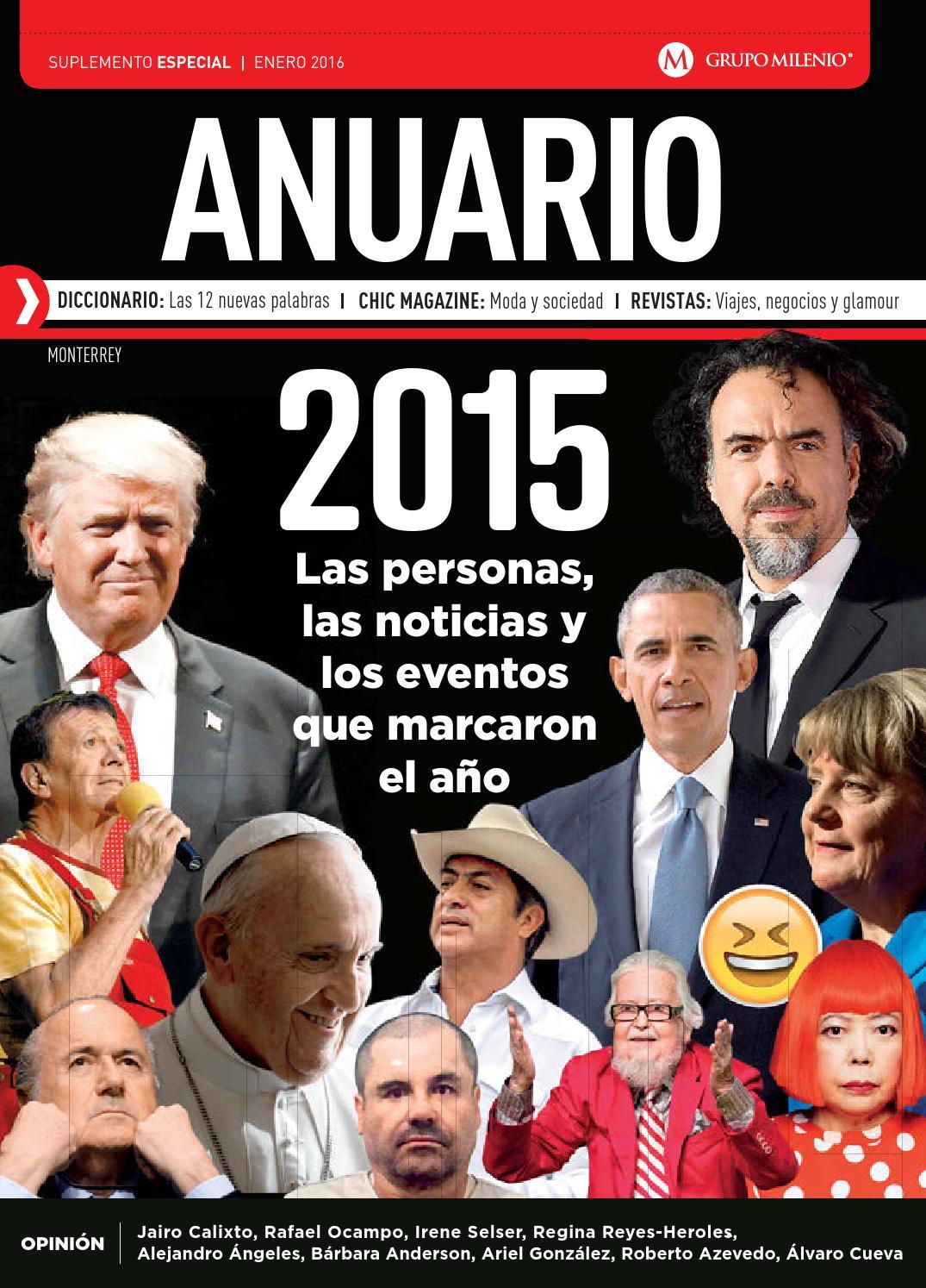 Anuario 2015 by Milenio Diario Monterrey - issuu 5b09e260c0a30