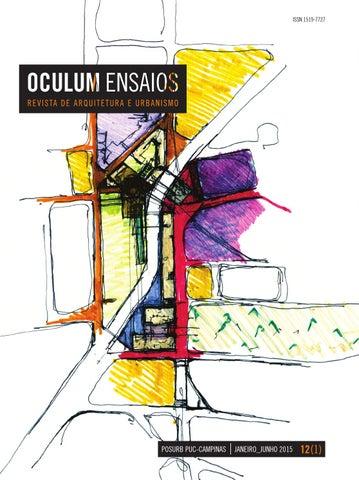 29fb5cef0953f Oculum Ensaios v. 12, n. 2 (2015) by Núcleo de Apoio Posurb - issuu
