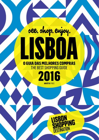 Guia das melhores compras lisbon shopping destination 2016 by caf page 1 fandeluxe Choice Image