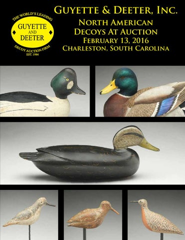 5219fabb Guyette & Deeter, Inc. North American Decoys At Auction February 13, 2016
