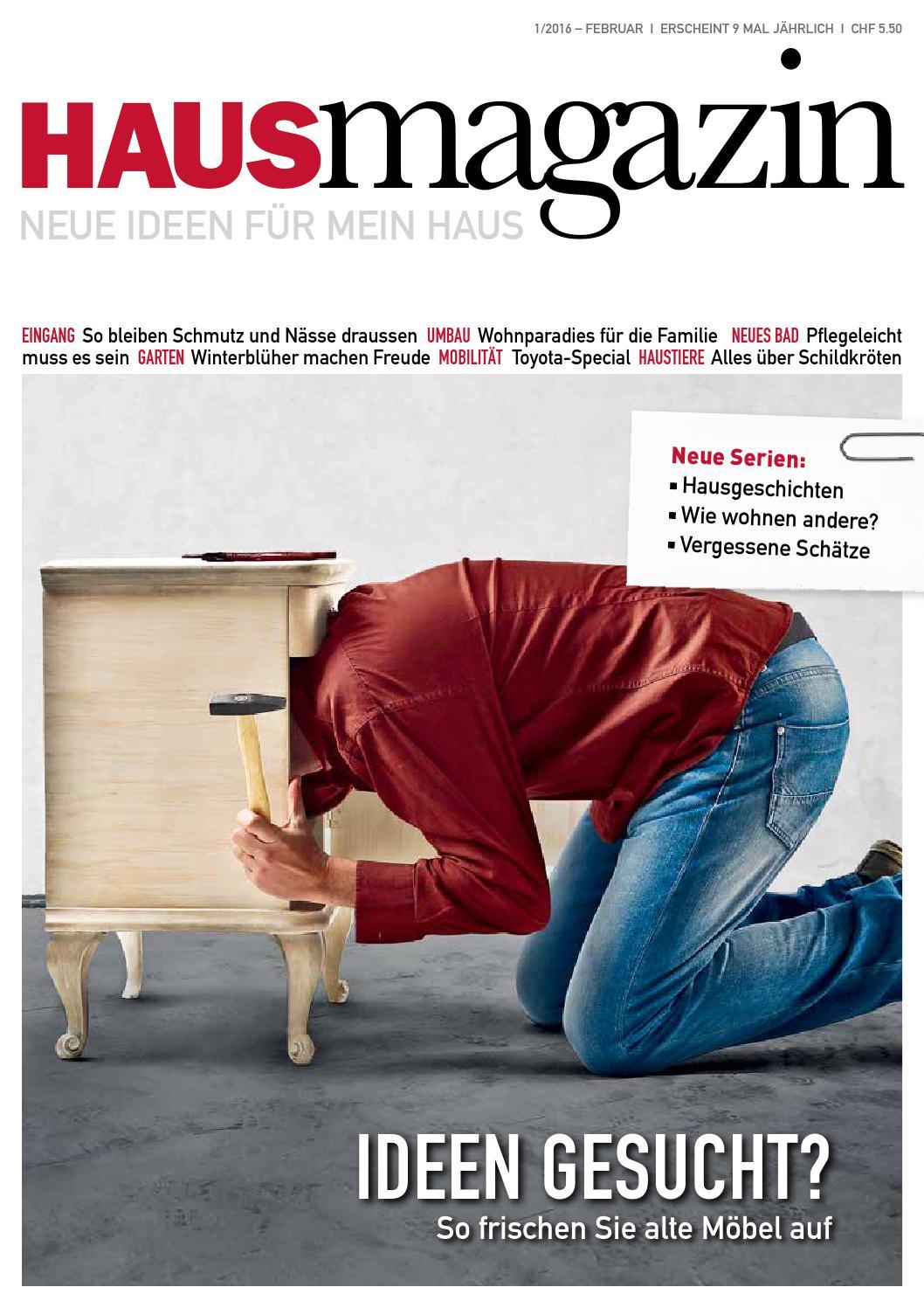Hausmagazin Februar 2016 by HAUS MAGAZIN - issuu