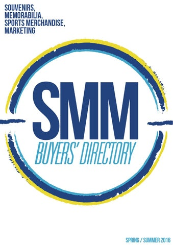 170f19dca SMM Buyers Directory Spring/Summer 2016 by SMMEX Event - issuu