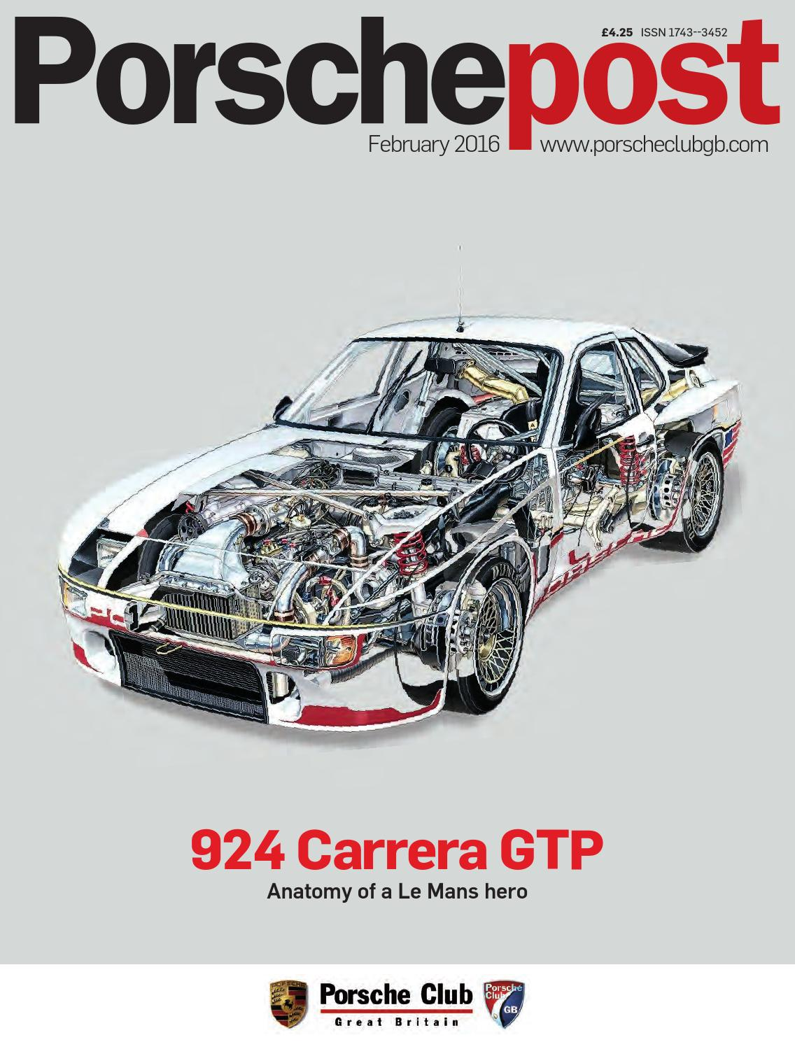 917aa157b Porsche Post February 2016 by Porsche Club Great Britain - issuu