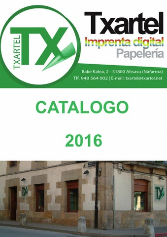 catalogo 2016 Txartel by Txartel - issuu 309bd7d36d0f