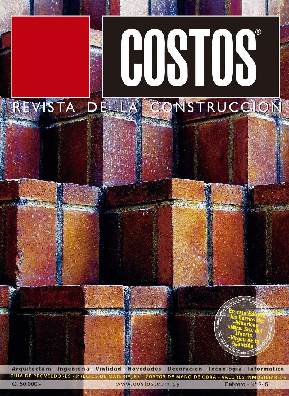 Costos 245 Febrero 2016 by Revista Costos (Paraguay) - issuu f95063fb0dcd