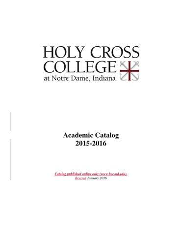2015 2016 Academic Catalog