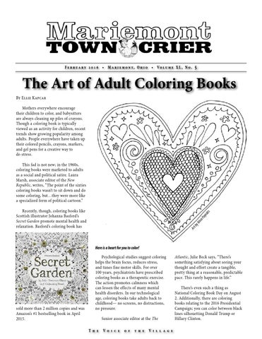 Town Crier Vol39 Issue5 February 2016 By Mariemont