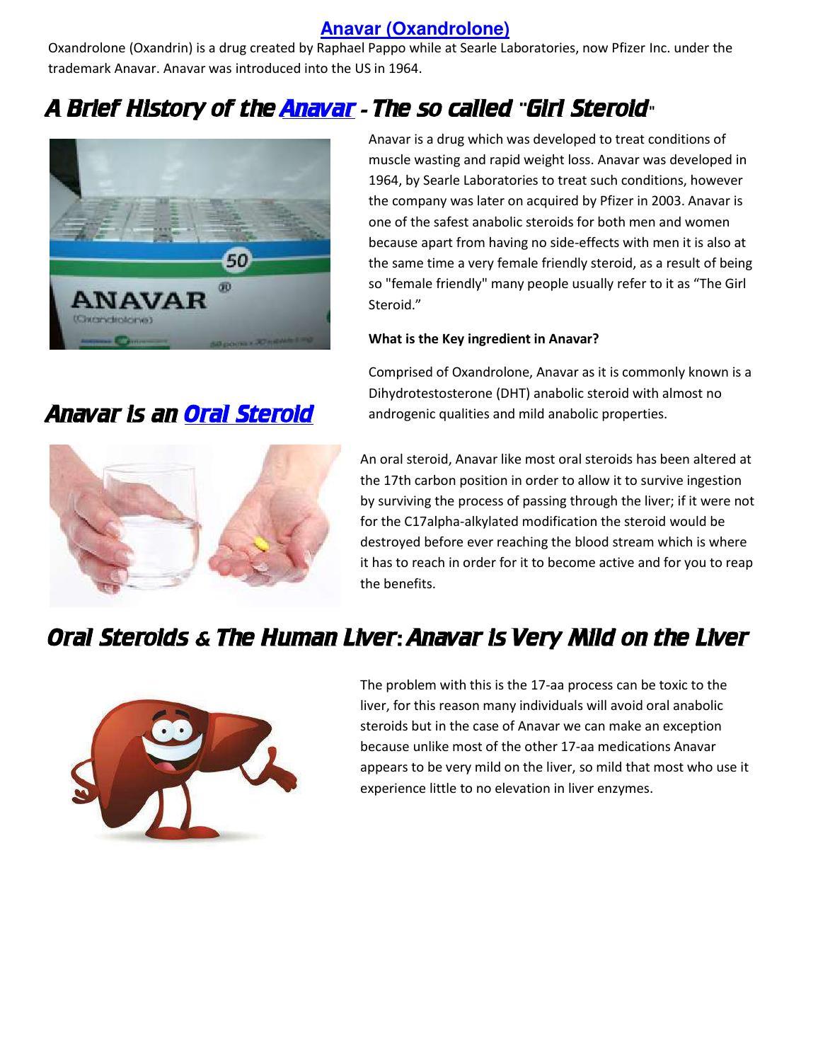 Pdf anavar the girl steroid by Jawara Breezy - issuu