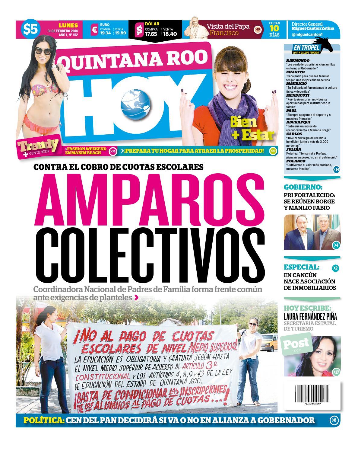 Qh010216 by Quintanaroohoy - issuu