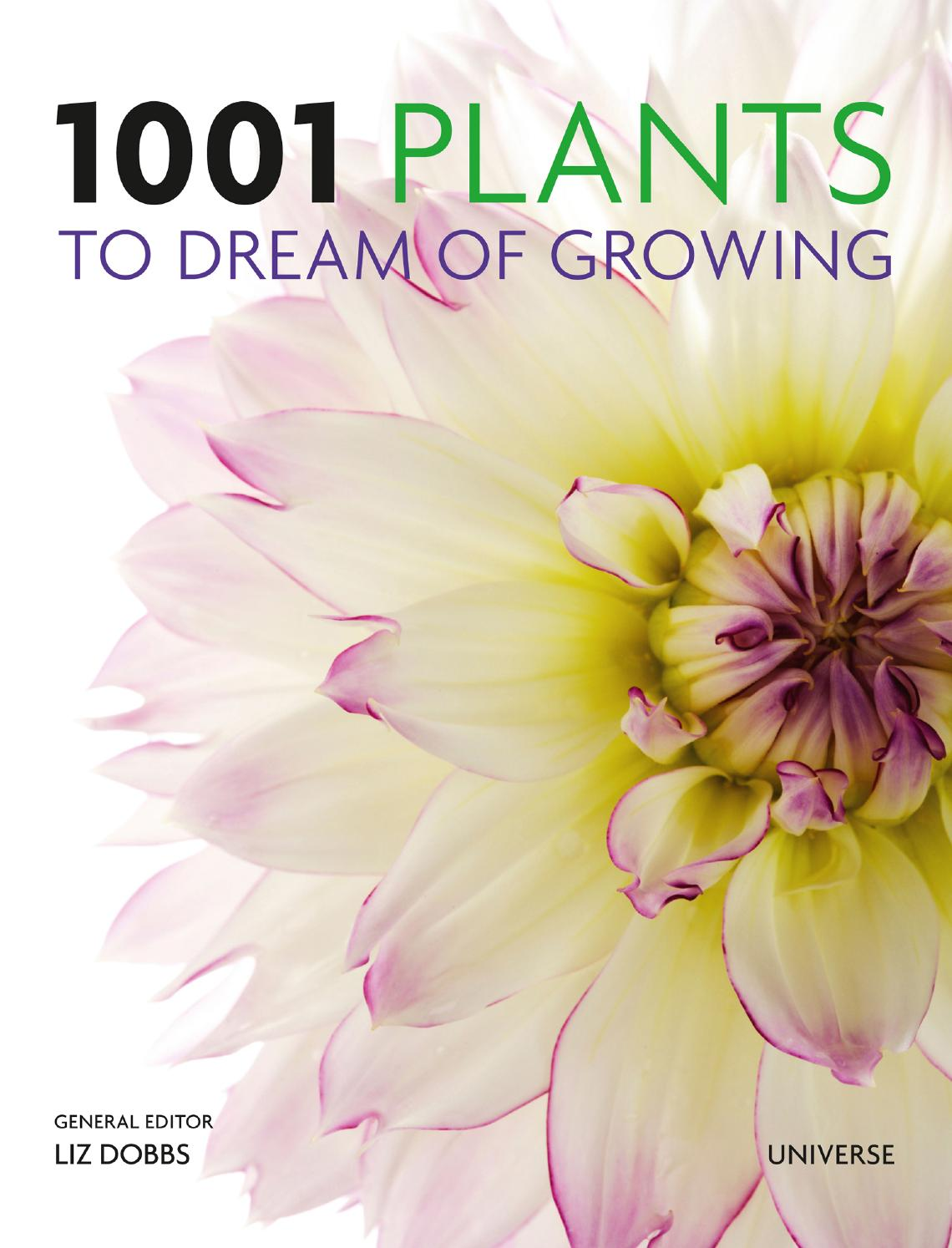 1001 Plants To Dream Of Growing By Rizzoli International