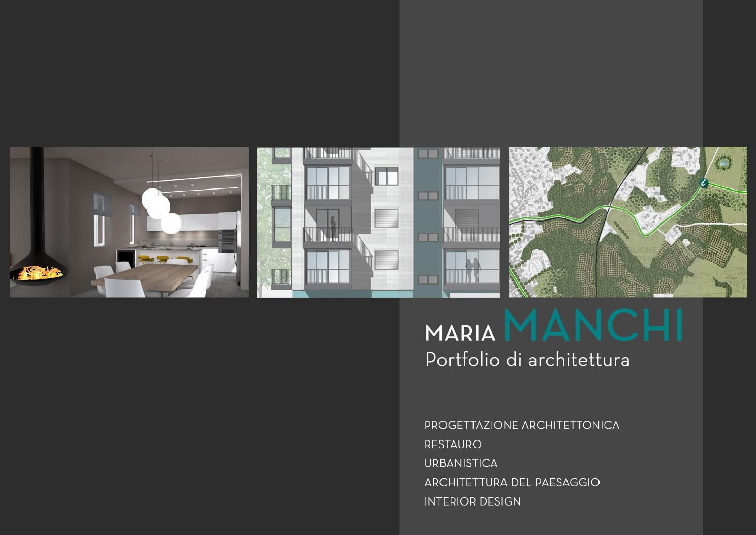 Maria Manchi Portfolio di Architettura by Maria Manchi - issuu