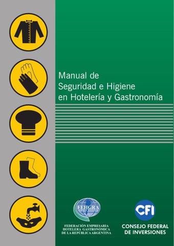 Manual de seguridad e higiene en hoteleria y gastronomia for Manual de cocina industrial