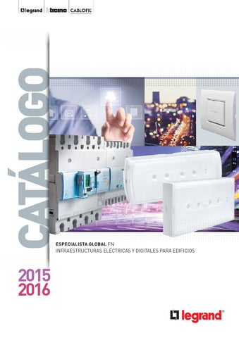 Cap 3 Terciario Catalogo Legrand Group 2015 2016 By Gomez