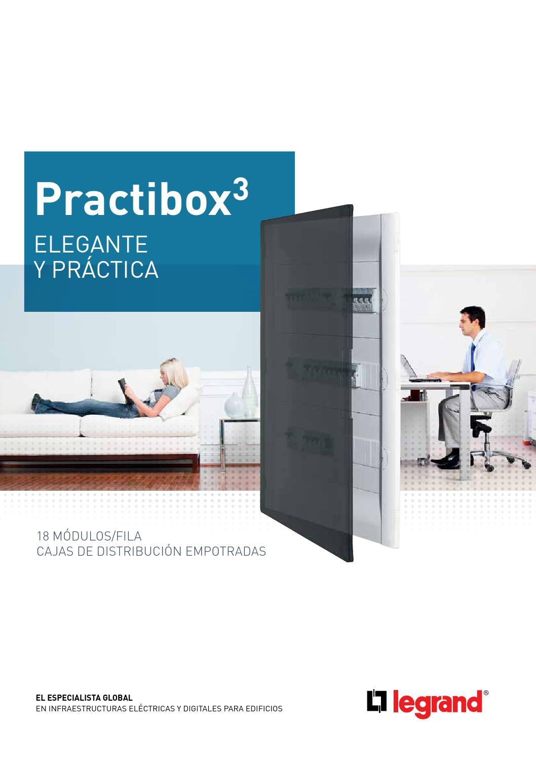 Cajas de distribucion practibox 3 legrand by gomez moreno for Caja de distribucion