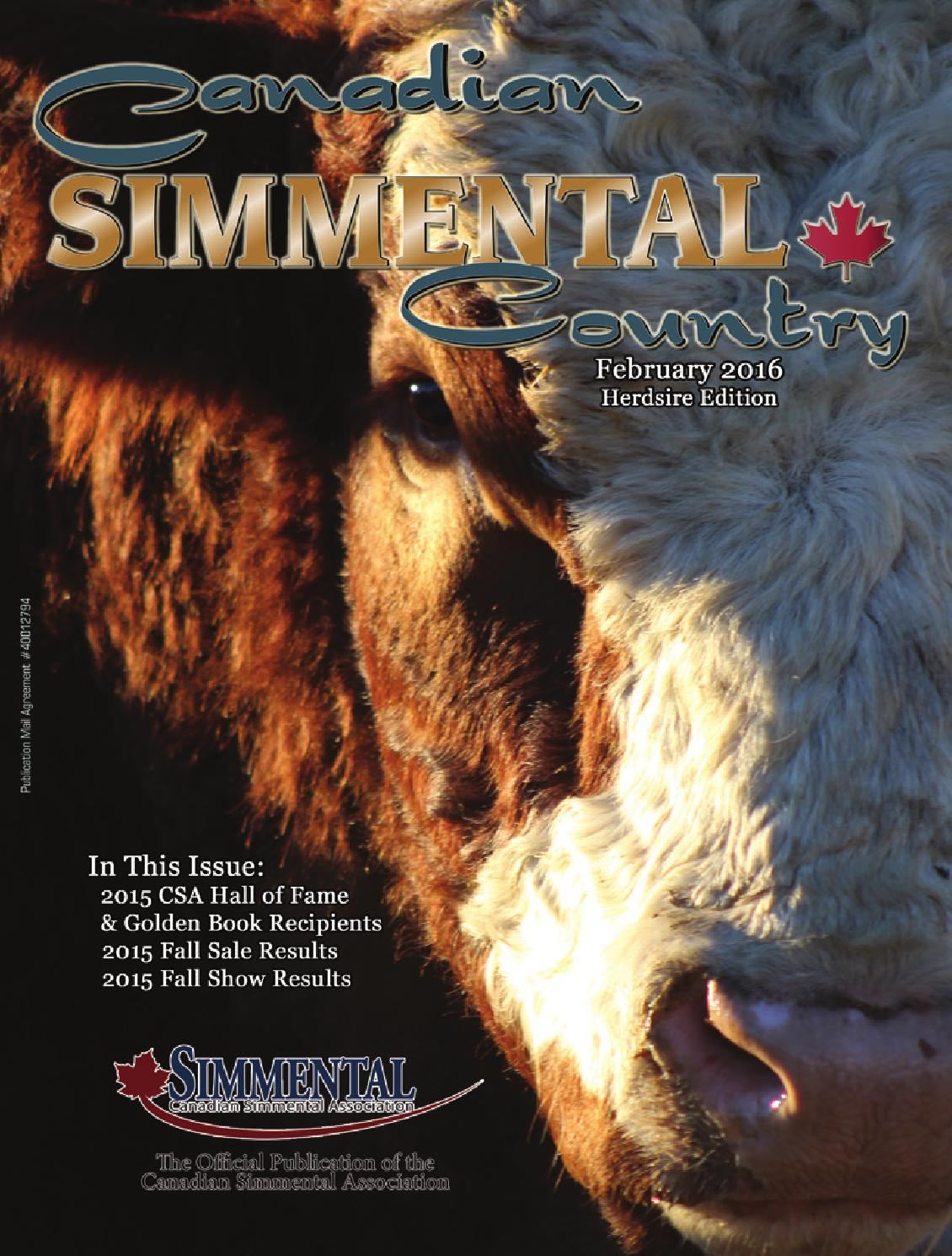 Canadian Simmental Country By Todays Publishing Inc Issuu Sell Replacement Part Of Pellet Stove Circuit Board Ningbo Hitech