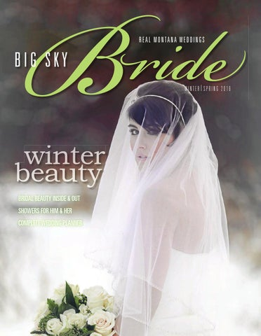 Big Sky Bride January 2016 By Billings Gazette Issuu