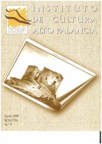 76314c5bd647 Boletín 9 del Instituto de Cultura del Alto Palancia (Junio 1999) by ...