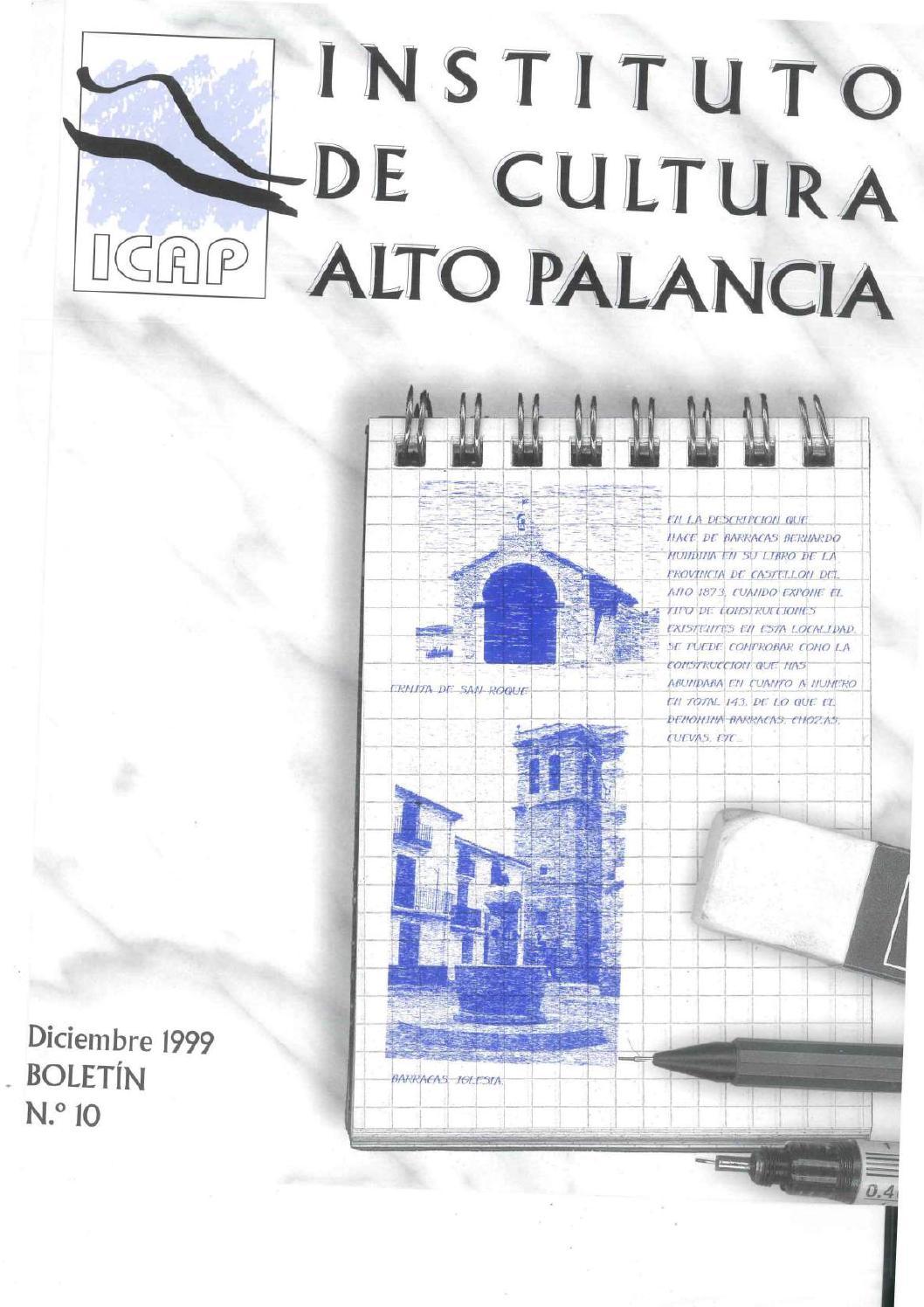 Boletín 10 del Instituto de Cultura del Alto Palancia (Diciembre ...