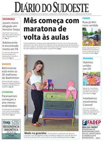 921450307 Diário do sudoeste 2 de fevereiro de 2016 ed 6563 by Diário do ...