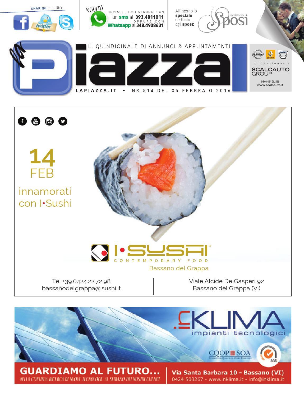 la Piazza nr° 514 by la Piazza di Cavazzin Daniele - issuu ec64dc0f922