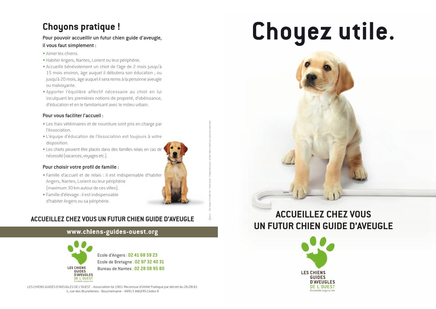 Depliant Choyez Utile By Chien Guide Ouest Issuu