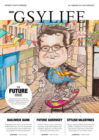 3b83e9b387 GSYLIFE.  01. FEBRUARY 2016. THE FUTURE ISSUE. by GSYLIFE - issuu