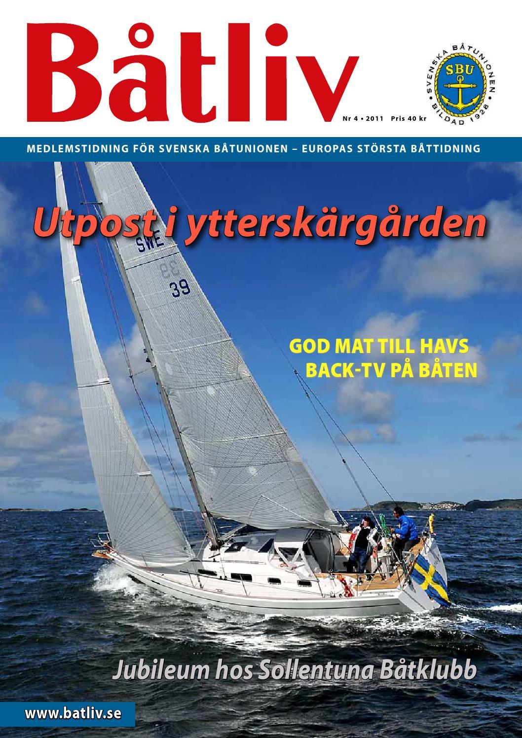 Tidningen båtliv nummer 4 2011 by Tidningen Båtliv - issuu 30b0295398e15