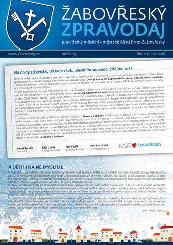e09c37e7db1 Žabovřeský zpravodaj 02 16 by čekit s.r.o. - issuu
