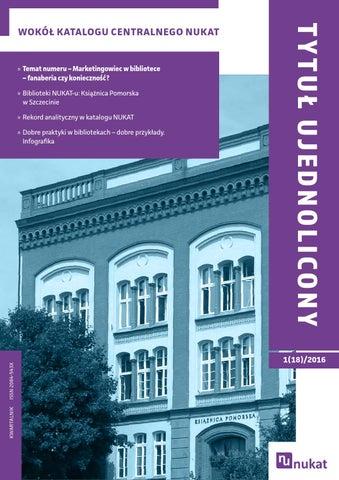 ac2618f101062 Biblioteki NUKAT-u  Książnica Pomorska w Szczecinie »» Rekord analityczny w  katalogu NUKAT